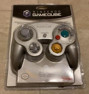 Nintendo Game Cube Platinum Silver Controller SEALED