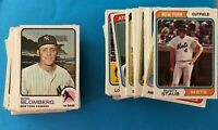 1973 & 1974 Topps Baseball Cards -  Complete Your Sets you pick  25