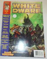 White Dwarf Magazine High Elf Special No.210 103014R