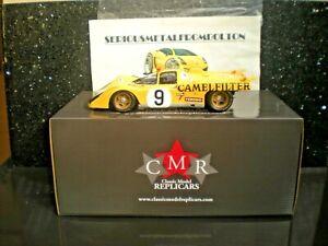 CMR 015 'FERRARI 512 M' 24 HRS LE MANS 1971 #9 Yellow 1:18