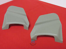CHRYSLER Aspen DODGE Durango LEFT & RIGHT khaki seatbelt anchor covers OEM MOPAR