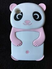 New iPod Touch 4 Pink Panda 3D SOFT Silicone Case