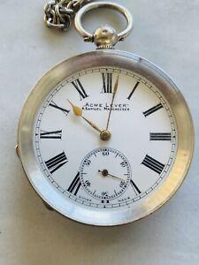 H.Samuel Manchester Acme Lever Antique Pocketwatch C1920 Vintage Swiss Watch AU