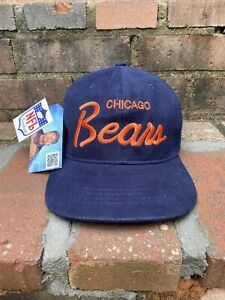 Vintage Chicago Bears SnapBack Hat Cap 90s Christmas Vacation Clark Griswold USA