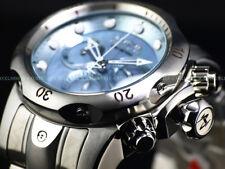 Invicta Reserve 52mm Venom Swiss Chrono Blue Cloudy MOP Bracelet SS 1000M Diver