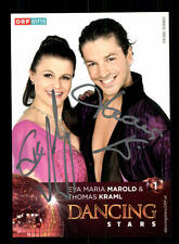 Eva Maria Marold und Thomas Kraml Autogrammkarte Original Signiert ## BC 95823
