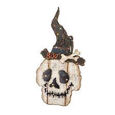 Heaven Sends Halloween LED SKULL PLACCA-Light Up Teschio Halloween Decorazione