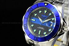 Invicta 47mm Men's 300m Fireblue Super Grand Diver Automatic Bracelet SS Watch