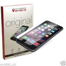 "Genuine ZAGG INVISIBLE escudo protector de pantalla para Apple iPhone 6S 6 (4.7"") NUEVO"