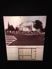 "Christo ""Wrapped Kunsthalle Bern"" 35mm Environmental Modern Art Slide"