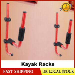 Kayak Wall Mount Bracket Rack Heavy Duty Storing Storage Hangers Canoe Holder