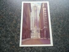 VINTAGE POSTCARD 1920S CHICAGO BOARD OF TRADE BUILDING  UNPOSTED