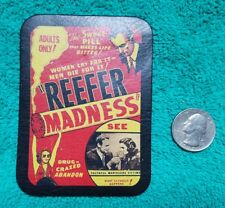 Refer Madness, Prohibition Adults Only - THE SWEET PILL - Leather Patch