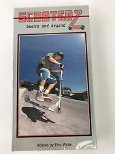 """Scooter Vhs """"Scooterz""""Vid3 Scooting Scoot Vintage Brand New Skate Collectable"""