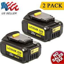 2PCS For DEWALT DCB200 DCB204 DCD980 20V Max 4.0Ah XR Lithium-Ion Drill Battery