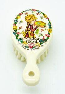 "1976 VINTAGE SANRIO Meadow Sweet Styling Brush 3-3/4"" White - Good!"