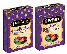2 BOX'S HARRY POTTER BERTIE BOTT'S, JELLY BELLY FACTORY SEALED BOX'S