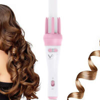 Automatic Curling Wand  Ceramic Professional Auto Hair Iron Pink Irons Care
