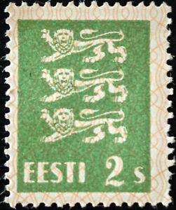 Stamp Estonia SG74 1928 2S Arms of Estonia Mint Hinged