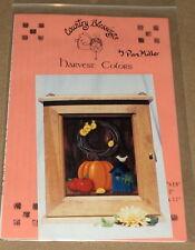 "Pam Miller ""Harvest Colors"" Tole Painting Pattern Pack Pumpkin Apples Flowers"