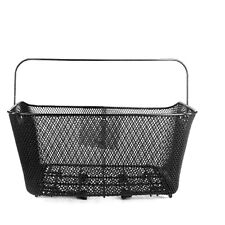 Bicycle Back Wheel Basket with Clampsystem removable Bike for rear carriers
