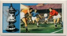 History Of The F.A. Cup Football Soccer Vintage Trade Ad Card