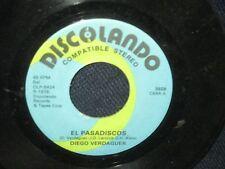 """Diego Verdaguer """"El Pasadiscos/Soy Un TOnto Sin Tu AMor"""" 45"""