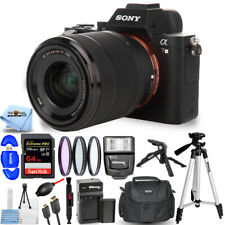 Sony Alpha a7 III Mirrorless Digital Camera with 28-70mm - 64GB Top Value Bundle