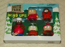 1998 South Park - Wind-Up Walkers - Set of 5 - Stan Kyle Kenny Cartman & Chef
