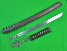 Japanese Japan WWII WW2 Wakizashi Katana Sword & Scabbard
