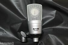 B-stock KAM Crystal - Large Diaphragm Condenser Mic, Similar sound to TLM103