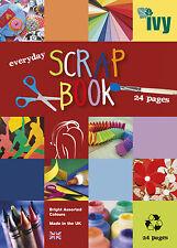 2 X A4 Scrapbook esquejes Libros - 24 páginas por libro de papel de azúcar coloreado
