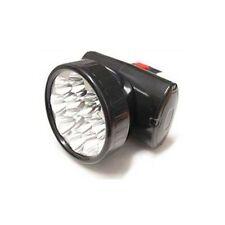 LAMPADA FRONTALE 12 LED DA TESTA TORCIA BATTERIA RICARICABILE FARO LUCE CASCO
