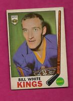 1969-70 OPC # 101 KINGS BILL WHITE GOOD CARD (INV#4006)