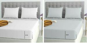 300 Thread Count Deep Box 30CM 100% EGYPTIAN COTTON Fitted Single Double King