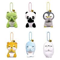 Cute Animal Stuffed Doll Key Chain Bag Pendant Little Plush Toy Kids Car Pendant