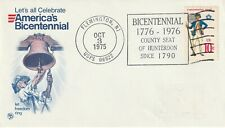 US 1975 US BICENTENNIAL FIRST DAY COVER BETTER FREMINGTON NJ SHS
