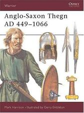 BOOK OSPREY Warrior #5 Anglo-Saxon Thegn AD 449-1066 op 1993 1st Ed