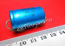 57 uF 63V Condensatore Elettrolitico non polarizzato NP