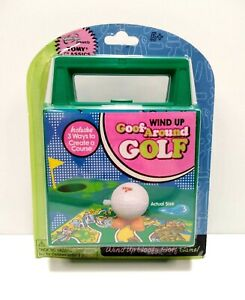 TOMY Classics Wind Up Goof Around Golf Travel Game 2006 NEW In Sealed Package
