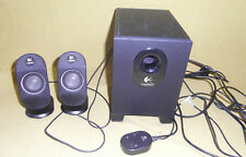 Logitech X-210 2.1 Lautsprecher System Loudspeaker PC Notebook