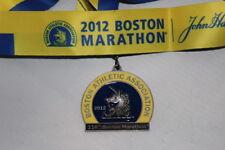 2012 Boston Marathon Medal