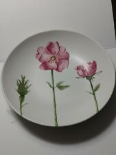 "Villeroy & Boch Flora Summerfield Serving Bowl Country Pink Rose 14"" Diameter"