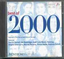 BEST OF 2000 - CLASSIC FM CD / BARTOLI FLEMING CURA GHEORGHIU PERAHIA RATTLE ETC