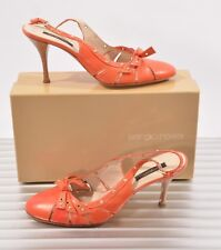 SERGIO ROSSI SCHUHE PUMPS SLING PUMPS ROT GR 41