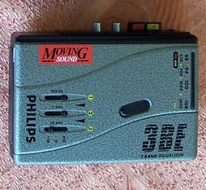 Philips Cassette Player AQ6594 & CD player AX1100 (no aq ax kt as aiwa wm d dcc)