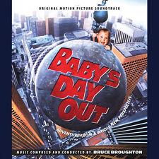 BEBE PART EN VADROUILLE (BABY'S DAY OUT) MUSIQUE DE FILM - BRUCE BROUGHTON (CD)