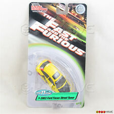 Fast and Furious 1:64 2003 Ford Focus Street Tuner Racing Champions series 11