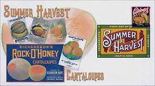 2015, Summer Harvest, Cantaloupes, DCP, 15-185