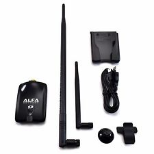 Alfa AWUS036NHA Wireless N USB Adapter Atheros AR9271 + 9dBi Antenna + U-Mount